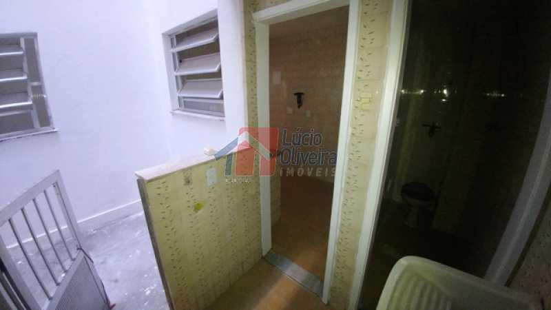 13- Area externa fundos - Apartamento À Venda - Braz de Pina - Rio de Janeiro - RJ - VPAP10111 - 11