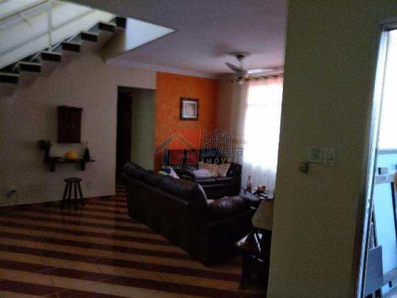 9-Outro ângulo da sala - Casa À Venda - Jardim América - Rio de Janeiro - RJ - VPCA40038 - 10
