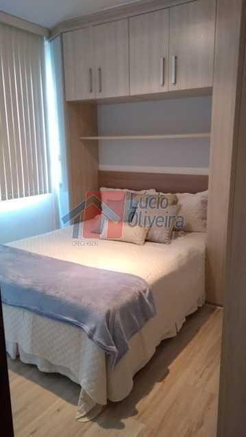 4-Quarto casal. - Apartamento, todo reformado e decorado, 2qtos. - VPAP20996 - 5