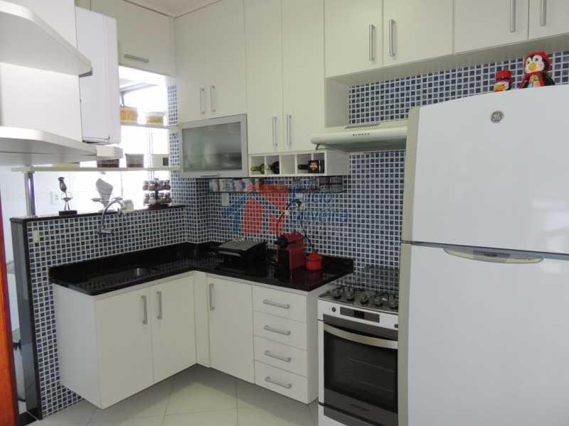 8-Cozinha Planejada. - Apartamento, todo reformado e decorado, 2qtos. - VPAP20996 - 9