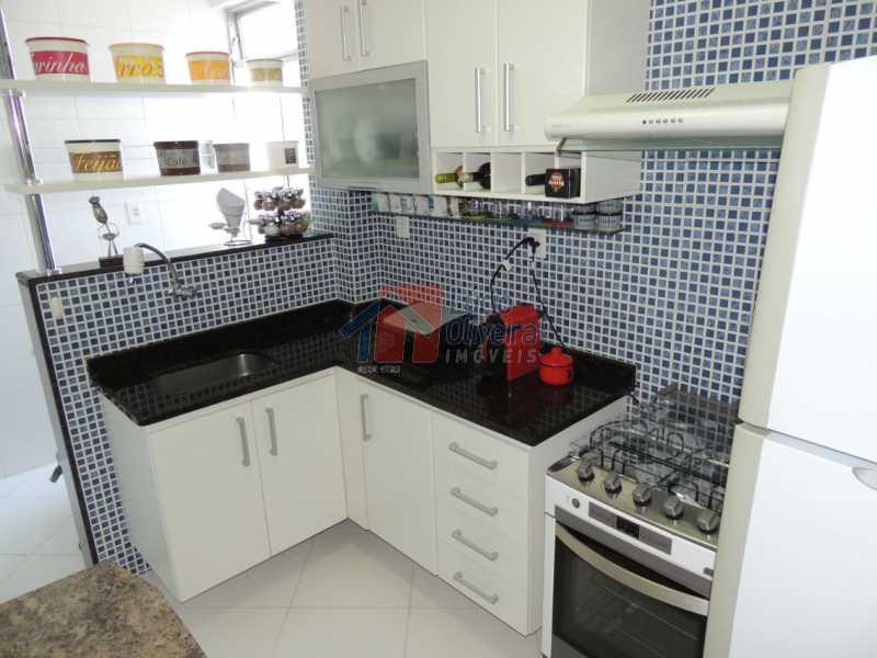 9-Cozinha. - Apartamento, todo reformado e decorado, 2qtos. - VPAP20996 - 11