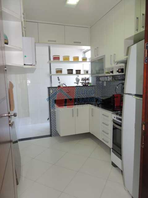 10-Cozinha. - Apartamento, todo reformado e decorado, 2qtos. - VPAP20996 - 12