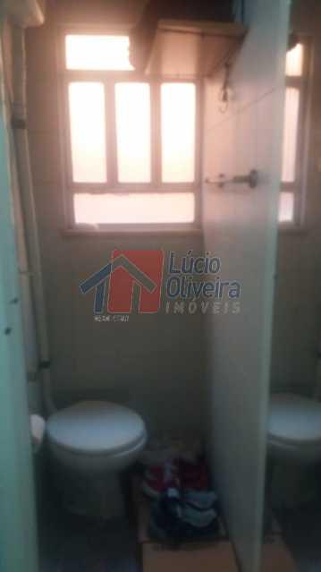 19-Banheiro de serviço. - Apartamento À Venda - Vila da Penha - Rio de Janeiro - RJ - VPAP20998 - 18