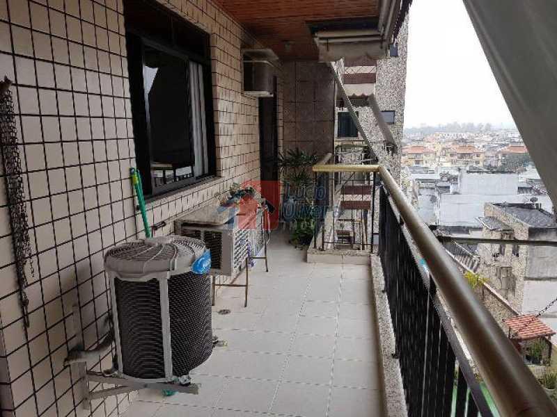 4- Varanda 3. - Apartamento Estrada da Água Grande,Irajá,Rio de Janeiro,RJ À Venda,2 Quartos,89m² - VPAP21003 - 5