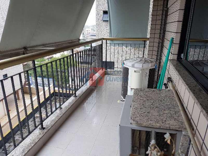 5- Varanda 2. - Apartamento Estrada da Água Grande,Irajá,Rio de Janeiro,RJ À Venda,2 Quartos,89m² - VPAP21003 - 6