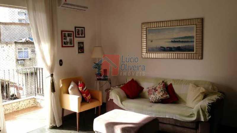 2-Sala. - Excelente Apartamento, Varanda, sol da manhã - VPAP21004 - 3