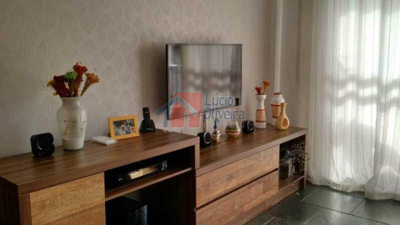 5-Sala. - Excelente Apartamento, Varanda, sol da manhã - VPAP21004 - 6