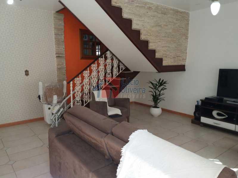 5-Sala. - Casa em Condominio À Venda - Vila Kosmos - Rio de Janeiro - RJ - VPCN50002 - 6