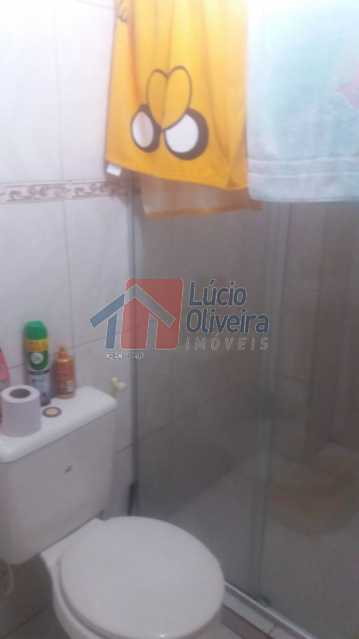 19-Banheiro casa dos fundos. - Casa À Venda - Irajá - Rio de Janeiro - RJ - VPCA50013 - 19