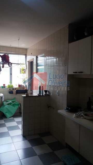 10-Cozinha com área. - Apartamento À Venda - Vila Kosmos - Rio de Janeiro - RJ - VPAP21017 - 10