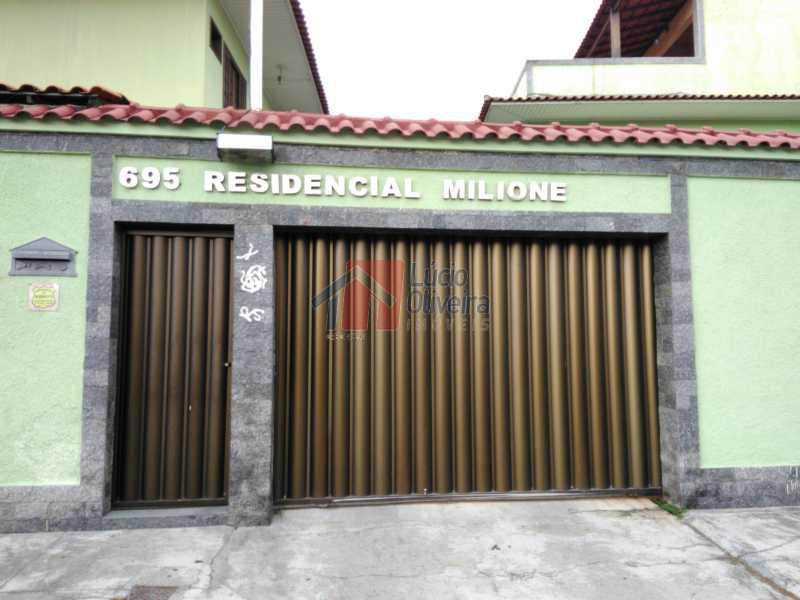 1 Fachada - Belíssima, Casa Duplex em Condomínio , 2 quartos. - VPCN20019 - 18