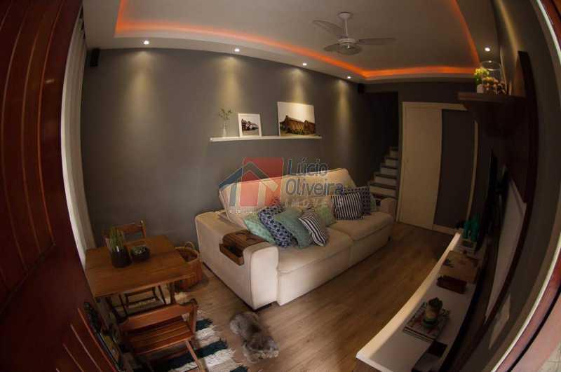 3 Sala - Belíssima, Casa Duplex em Condomínio , 2 quartos. - VPCN20019 - 3