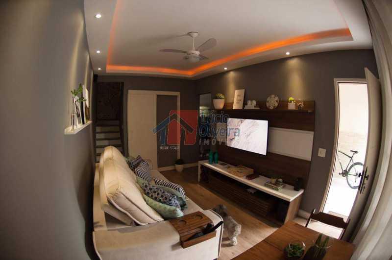 4 Sala Ang.2 - Belíssima, Casa Duplex em Condomínio , 2 quartos. - VPCN20019 - 4