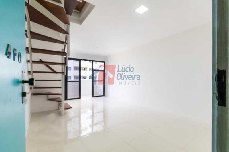 3 Sala - Apartamento Avenida Alfredo Baltazar da Silveira,Recreio dos Bandeirantes, Rio de Janeiro, RJ À Venda, 2 Quartos, 80m² - VPAP21024 - 4