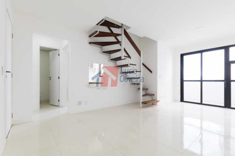 4 Sala Ang.2 - Apartamento Avenida Alfredo Baltazar da Silveira,Recreio dos Bandeirantes, Rio de Janeiro, RJ À Venda, 2 Quartos, 80m² - VPAP21024 - 5