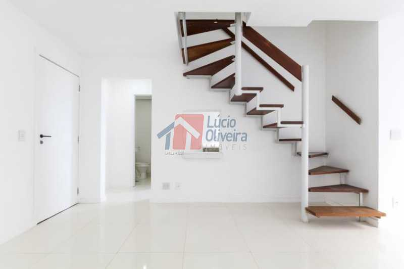 5 Sala Ang.3 - Apartamento Avenida Alfredo Baltazar da Silveira,Recreio dos Bandeirantes, Rio de Janeiro, RJ À Venda, 2 Quartos, 80m² - VPAP21024 - 6