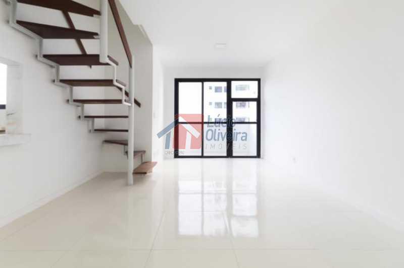 6 Sala Ang.4 - Apartamento Avenida Alfredo Baltazar da Silveira,Recreio dos Bandeirantes, Rio de Janeiro, RJ À Venda, 2 Quartos, 80m² - VPAP21024 - 7