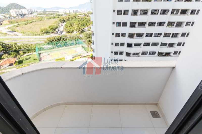 7 Varanda - Apartamento Avenida Alfredo Baltazar da Silveira,Recreio dos Bandeirantes, Rio de Janeiro, RJ À Venda, 2 Quartos, 80m² - VPAP21024 - 8