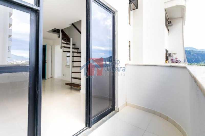 8 Varanda Ang.2 - Apartamento Avenida Alfredo Baltazar da Silveira,Recreio dos Bandeirantes, Rio de Janeiro, RJ À Venda, 2 Quartos, 80m² - VPAP21024 - 9