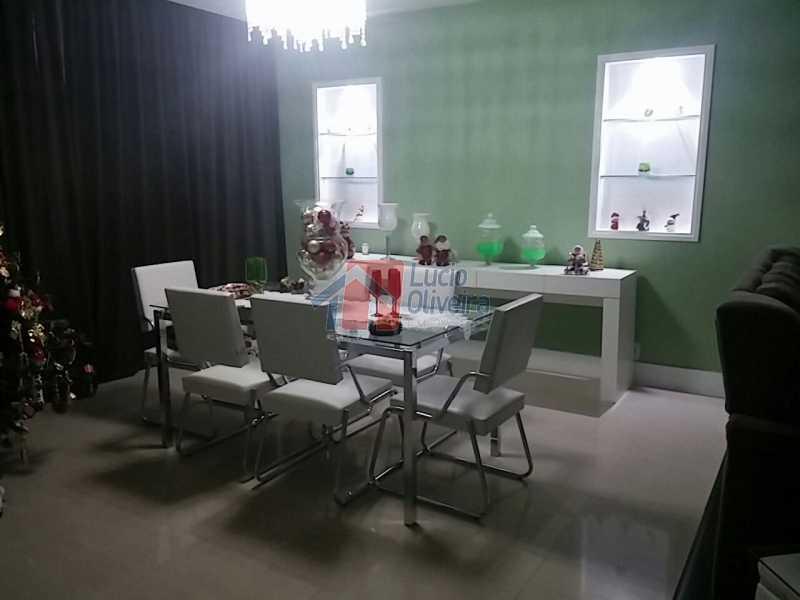 1- Sala. - Residência de Luxo em Condomínio fechado. - VPCA40039 - 1