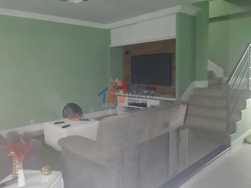 3- Sala. - Residência de Luxo em Condomínio fechado. - VPCA40039 - 4