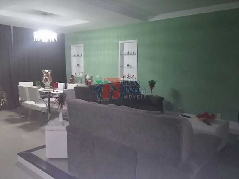 4- Sala. - Residência de Luxo em Condomínio fechado. - VPCA40039 - 5