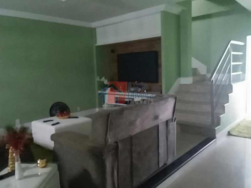 5-Sala. - Residência de Luxo em Condomínio fechado. - VPCA40039 - 6