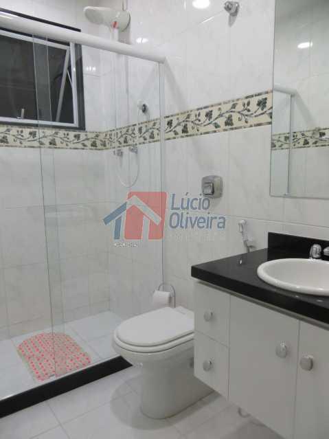 13-Banheiro Social suite. - Residência de Luxo em Condomínio fechado. - VPCA40039 - 17