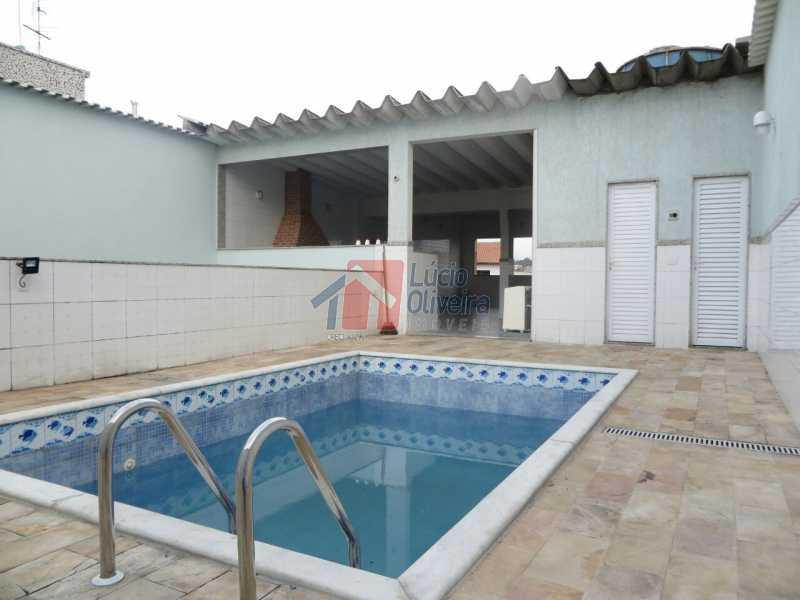 18- Piscina e churrasqueira. - Residência de Luxo em Condomínio fechado. - VPCA40039 - 23