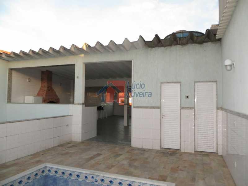 22-Terraço,piscina,banheiro. - Residência de Luxo em Condomínio fechado. - VPCA40039 - 27