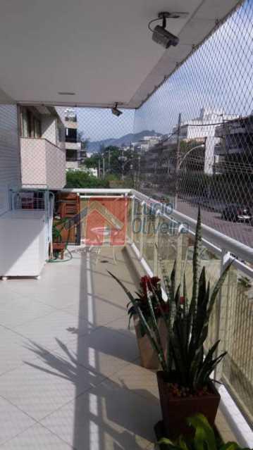 2 Varanda 2. - Apartamento Rua Presidente Nereu Ramos,Recreio dos Bandeirantes,Rio de Janeiro,RJ À Venda,3 Quartos,112m² - VPAP30235 - 4