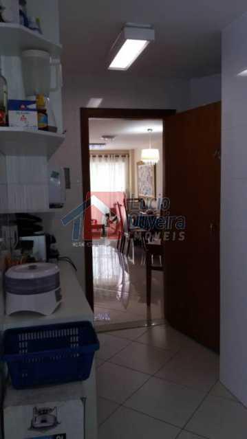 10 Cozinha com vista para sala - Apartamento Rua Presidente Nereu Ramos,Recreio dos Bandeirantes,Rio de Janeiro,RJ À Venda,3 Quartos,112m² - VPAP30235 - 13