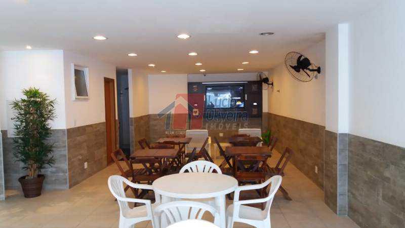 22 Espaço com tv. - Apartamento Rua Presidente Nereu Ramos,Recreio dos Bandeirantes,Rio de Janeiro,RJ À Venda,3 Quartos,112m² - VPAP30235 - 23