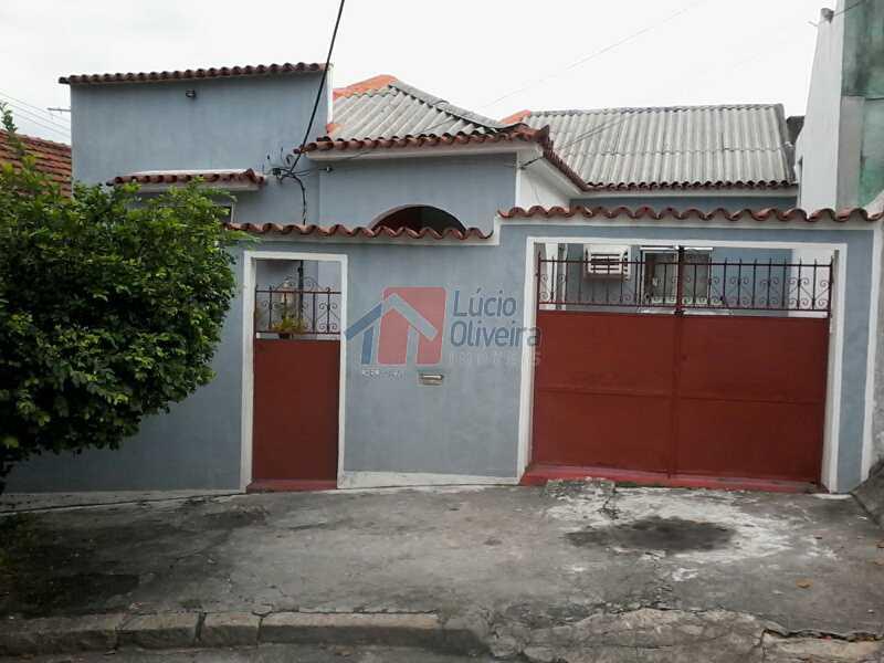 3Frente Casa rua - Casa À Venda - Braz de Pina - Rio de Janeiro - RJ - VPCA40040 - 5
