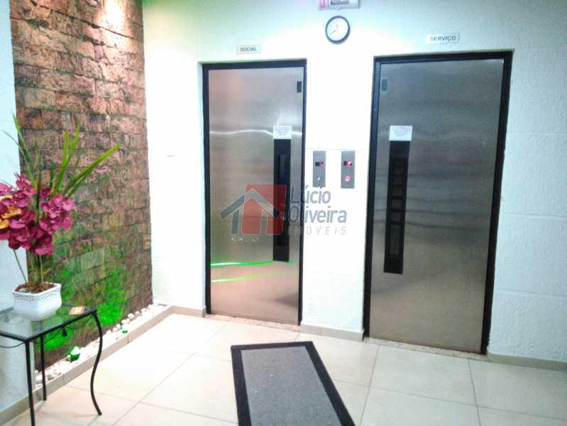 2 Hall - Apartamento 2qtos, Junto a estação de Ramos. - VPAP21030 - 20
