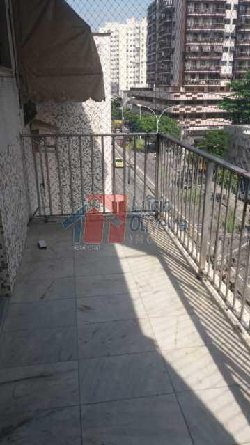 3-Varanda. - Excelente Apartamento, Vazio,2 quartos. - VPAP21034 - 3