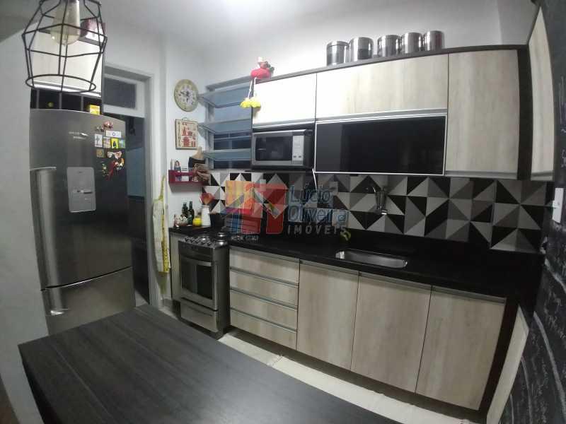 11-Cozinha Americana Amrarios  - Excelente Apartamento, sala em 2 ambientes. - VPAP21035 - 11