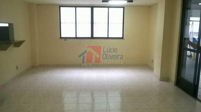 25 Salão de Festas Ang.2 - Magnífica Cobertura 3 qtos( sendo 1 suíte). Edifício Portinari. - VPCO30018 - 25