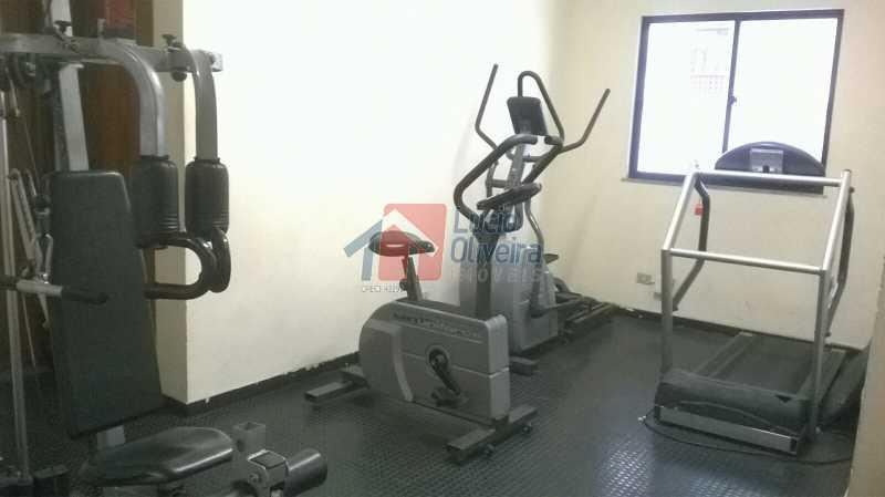 28 Sala de Musculação - Magnífica Cobertura 3 qtos( sendo 1 suíte). Edifício Portinari. - VPCO30018 - 28