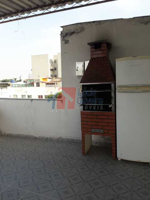 16-Terraço com churrasqueira - Apartamento À Venda - Vila da Penha - Rio de Janeiro - RJ - VPAP30246 - 17
