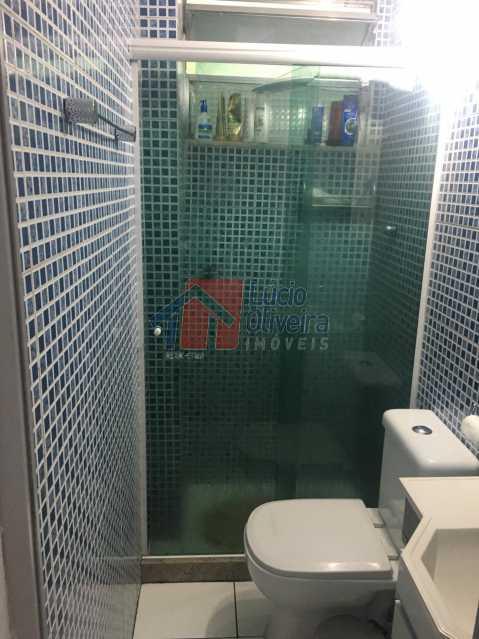 13-Banheiro com blindex - Lindo Apartamento 2 quartos. Aceita Financiamento. - VPAP21054 - 14
