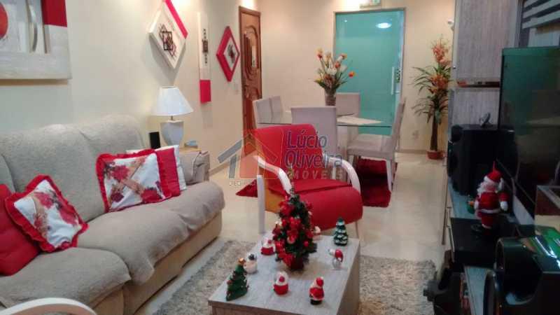 3-Sala - Magnífico Apartamento 2 quartos. Ac. Financiamento. - VPAP21063 - 1