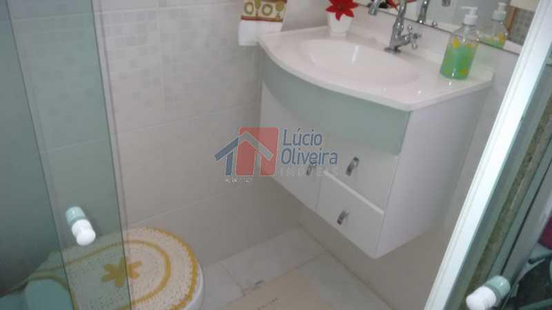 17-Banheiro de Serviço - Magnífico Apartamento 2 quartos. Ac. Financiamento. - VPAP21063 - 17