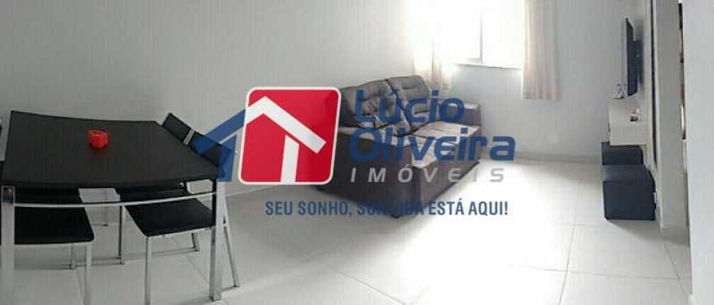 3 sala - Apartamento Rua Eugênio Gudin,Irajá,Rio de Janeiro,RJ À Venda,2 Quartos,55m² - VPAP21066 - 4