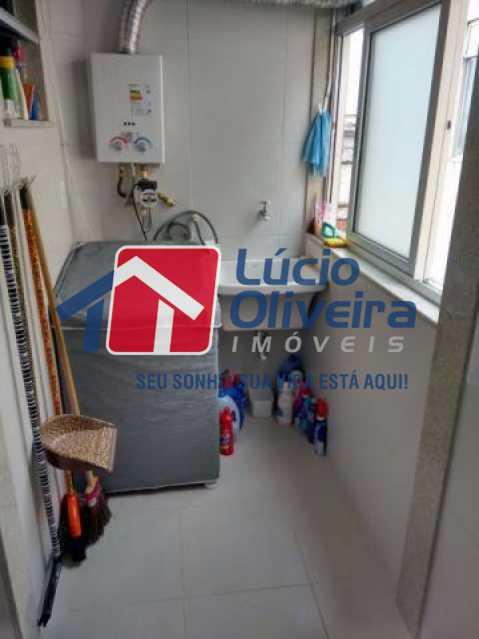 9 area serviço - Apartamento Rua Eugênio Gudin,Irajá,Rio de Janeiro,RJ À Venda,2 Quartos,55m² - VPAP21066 - 10