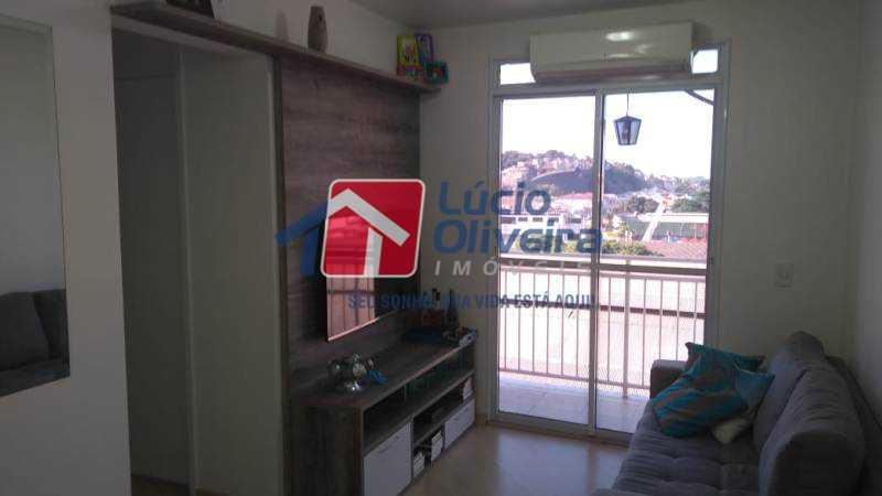 1-Sala ambiente - Apartamento 2 qtos(sendo 1 suíte). Ac. Financiamento. - VPAP21067 - 1