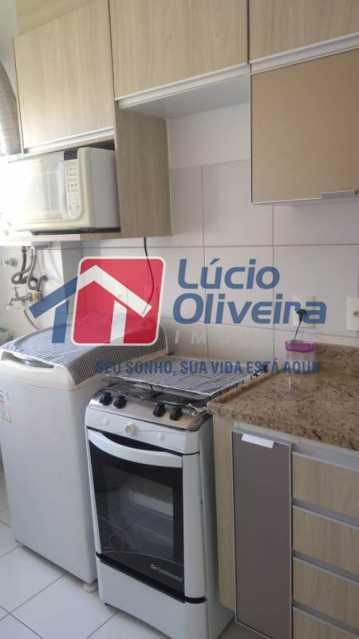 13-cozinha e area - Apartamento 2 qtos(sendo 1 suíte). Ac. Financiamento. - VPAP21067 - 13