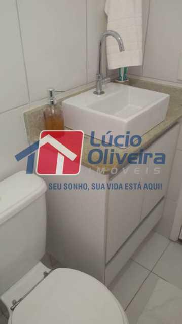 17-Banheiro suite - Apartamento 2 qtos(sendo 1 suíte). Ac. Financiamento. - VPAP21067 - 17