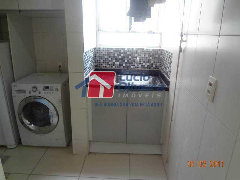 15-Area serviço. - Impecável Apartamento 2 quartos. Ac. Financiamento. - VPAP21074 - 16