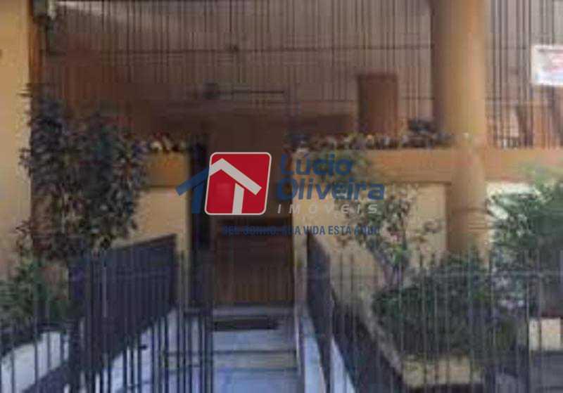 21-Eentrada predio - Impecável Apartamento 2 quartos. Ac. Financiamento. - VPAP21074 - 21